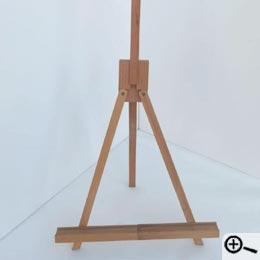 Atril De Mesa Plegable.Telas Y Atriles Para Pintores Y Aficionados
